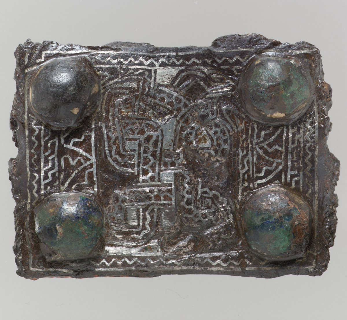 Back Plate from a Belt Buckle  #metmuseum #MedievalArt