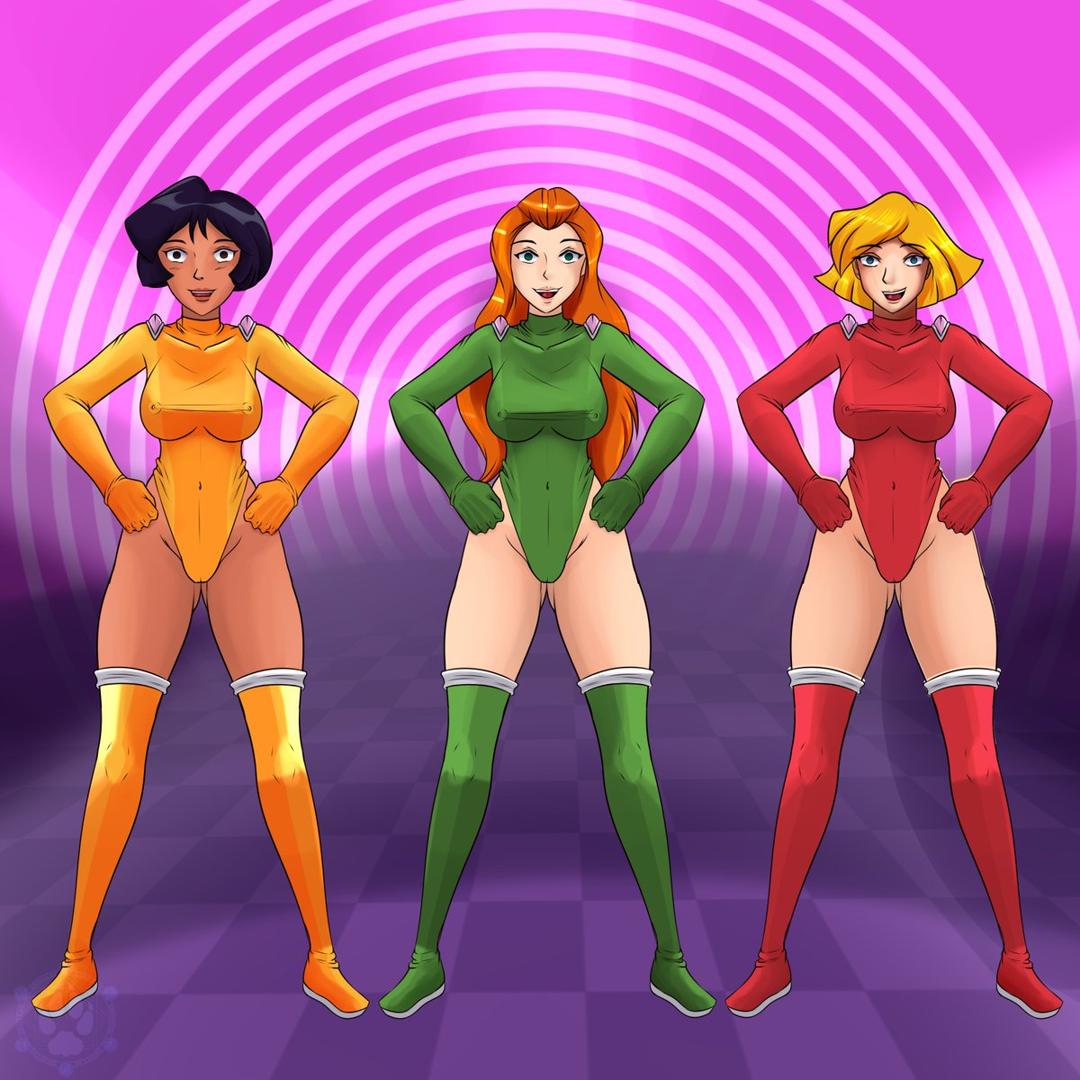 Totally spies sam hentai