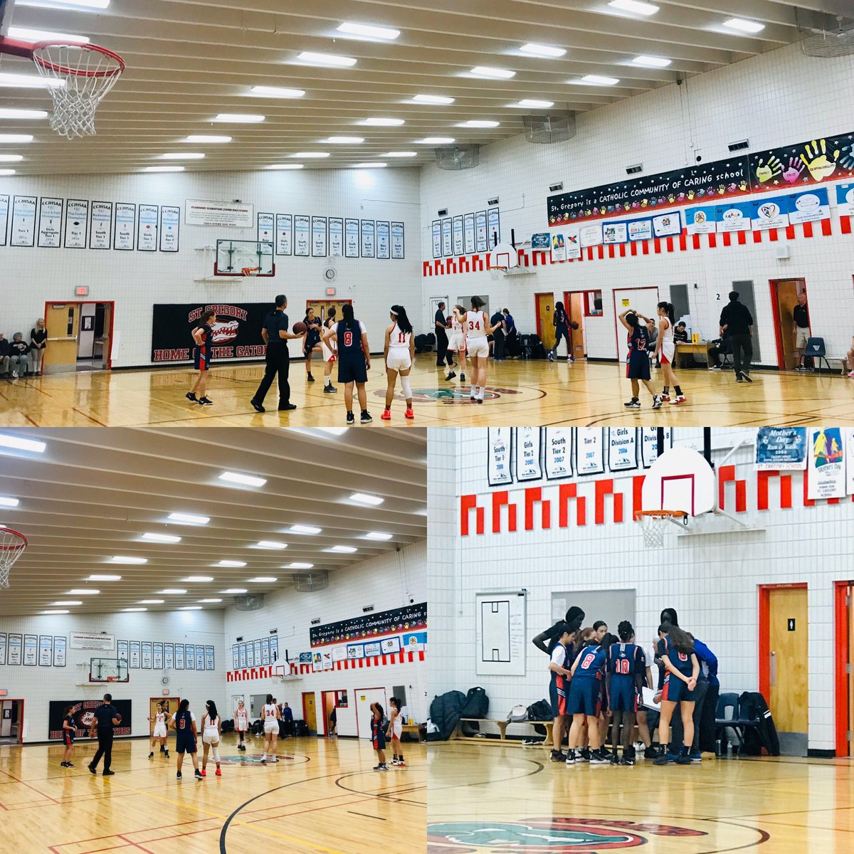 Congratulations to our #seniorgirls and #seniorboys #basketball teams on a wonderful season! You are all still #champions to us! Thank you to our fabulous coaches Mr. Dvorack, Ms. Kelly, Mr. Mateo and Ms. Birkett #gomustangspic.twitter.com/FQAUgV9tH9