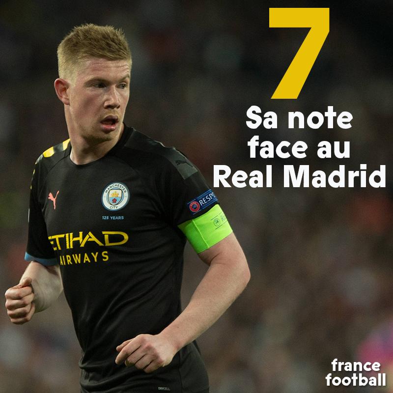 👉 Les notes de Real Madrid - Manchester City : bit.ly/3cc4TAj