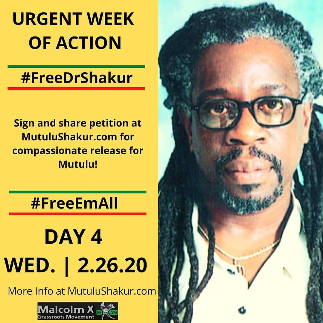 Sign the petition ASAP!  https://t.co/cAHeRq9XiS  Let's #FreeDrShakur !   #FreeEmAll   #Love #BlackLove  #BlackLivesMatter   #Support  #Help #MutuluShakur  #TupacShakur  #BlackTwitter  #BlackHistoryMonth  #BlackHistoryMonth2020  #Melanin  #Justice https://t.co/vGXbFZ7aru