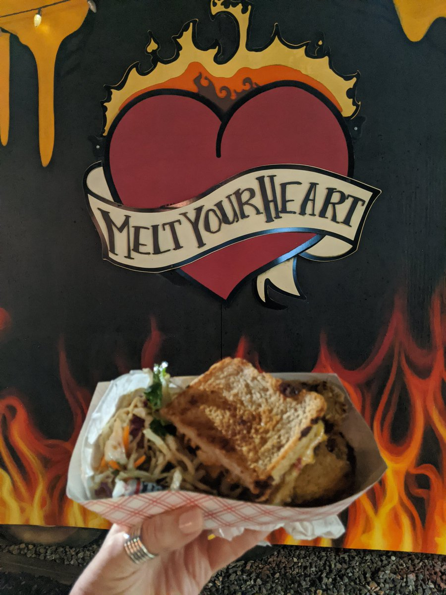 Omg @MeltYourHeart4U this Heart Attack is seriously amazing #Asheville