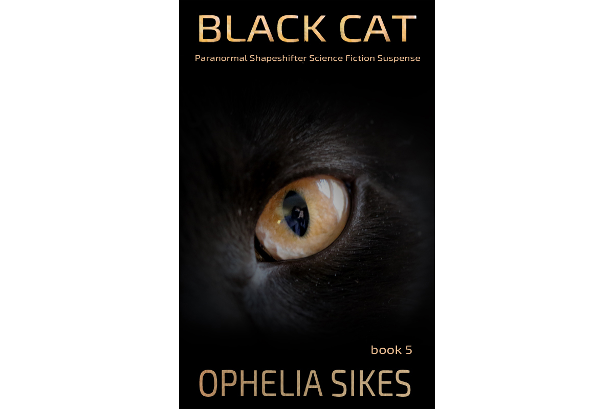 It's live! It's live! Black Cat 5 is now live. I'm finishing up Black Cat 6 and this should complete the series. I'm enjoying a delightful St. Germain cocktail while I write. What are you up to? Reading or watching anything?  #cat #cats #writingcommunity
