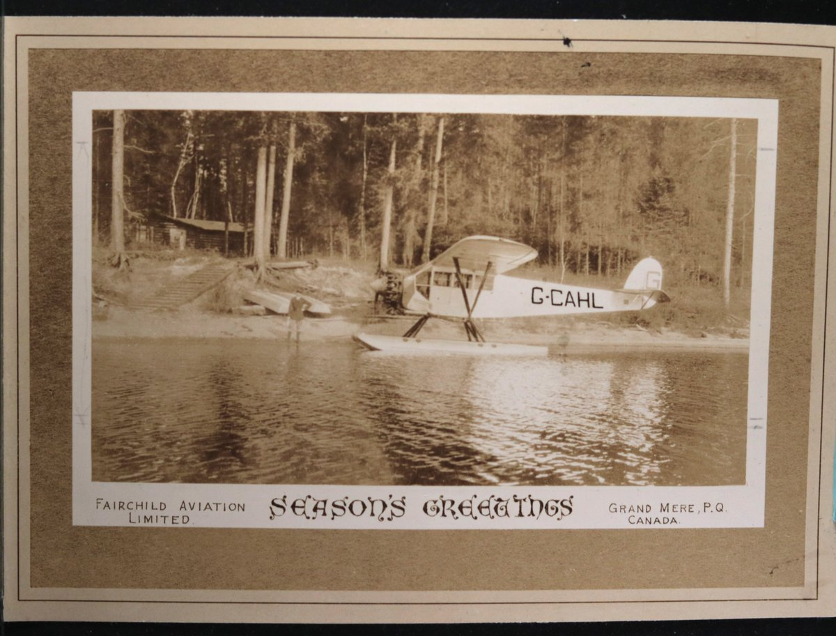 c. 1927 photo Fairchild Aviation FC-2 float plane, Grand-Mère Québec. Manufactured in 1927, this plane was part of Fairchild Aviation until 1930, when it was sold to Jamaica. #Canada #Quebec #History #photography #aviation #plane  #blackandwhitephotography