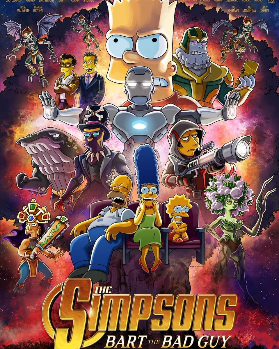 Póster de #LosSimpsons  para su capítulo especial sobre #MARVEL #actors #hollywood  #photography #foto #photo #posters #argentina #geeks #fans #noticias #popculture #movie #tv #Memes  #StarWars  #Disney #DisneyPlus