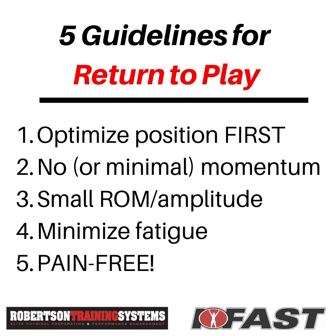 If you deal with return to play in athletics, here are some guidelines to get you started...