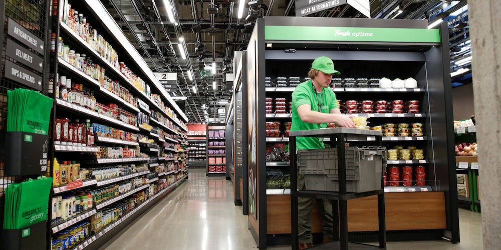 Amazon's cashierless grocery store cameras were fooled by a trickster's wardrobe change — but he still got charged for an avocado left by the bathroom (AMZN)  #companies #work