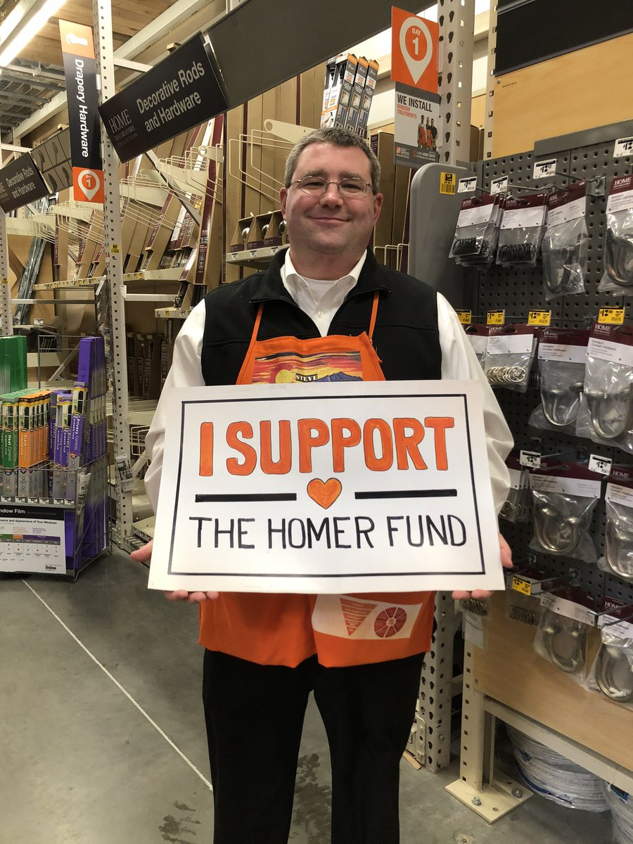 Visiting District Manager @SteveCronin12 Steve supports the Homer Fund #HomeDepot #Family 1538 @THDAbbySmith @lindseyTHD @kylerey81 @JohnSMDO5873 @ThePacMan1541 @MikeNic68177857