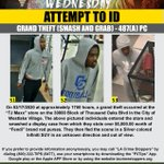 Image for the Tweet beginning: #WantedWednesday Help us catch these three