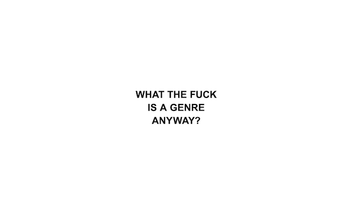 What the fuck is a genre anyway? Does it even matter anymore? Read our full op-ed here: ones2wat.ch/189