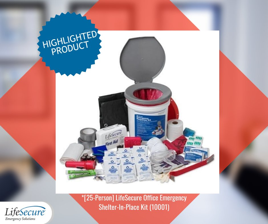 Check out our compact, waterproof emergency survival kit with essential emergency supplies for the first several hours of support for up to 25 people. It even converts to a toilet! https://www.lifesecure.com/office-emergency-kit-checklist/…   #EmergencyKit #ShelterInPlace #SurvivalKit #FirstAid #OfficeEmergencypic.twitter.com/grIE9zXw5h