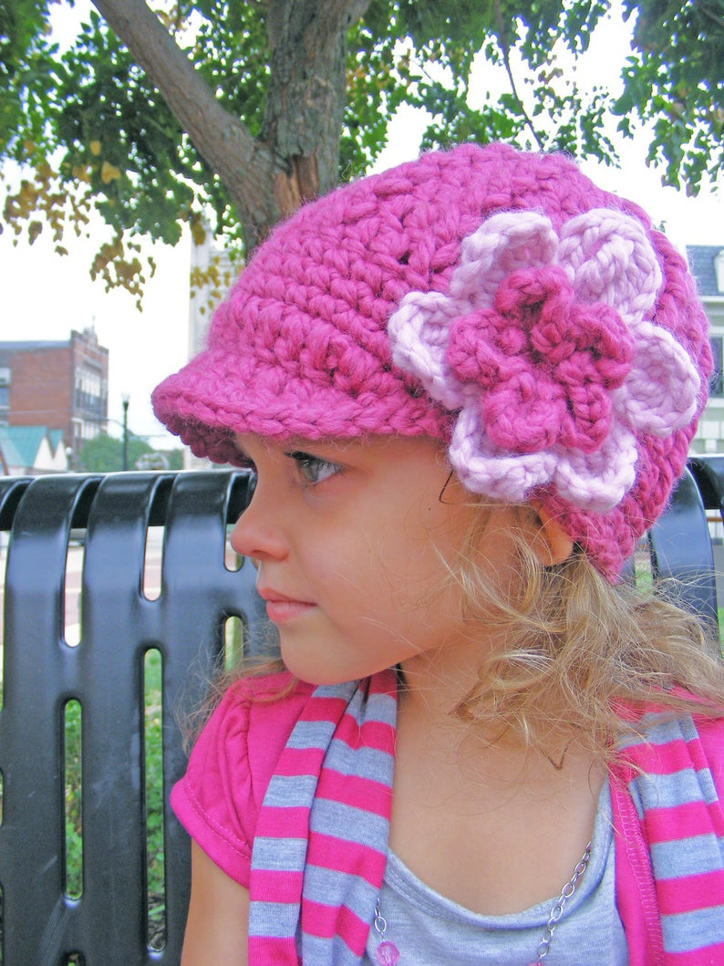 Also renewed this expired @etsy item    FREE US shipping raspberry pink & pink blossom baby, toddler, girl, & women's hat  #etsy #pink #prettyinpink #handmade #handcrafted #creativelifehappylife #maker #makersgonnamake