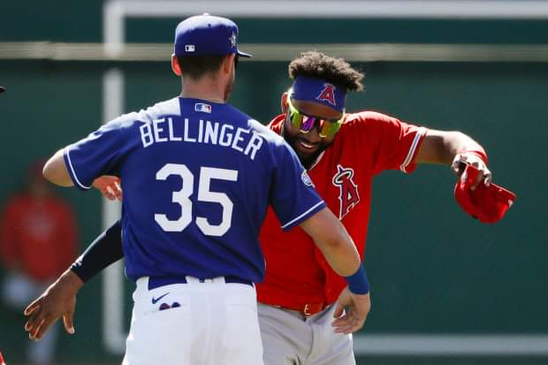 2/26 Spring Training Player Recap in the #Dodgers 9-4 win over the Angels:  Cody Bellinger: 1-2 1 RBI 1 BB Will Smith: 1-2 1 2B 1 BB Luke Raley: 1-2 1 3B 2 RBI Zach Mckinstry: 2-3 1 3B 2 RBI Cody Thomas: 1-2 1 HR 3 RBI  Gavin Lux: 1-3