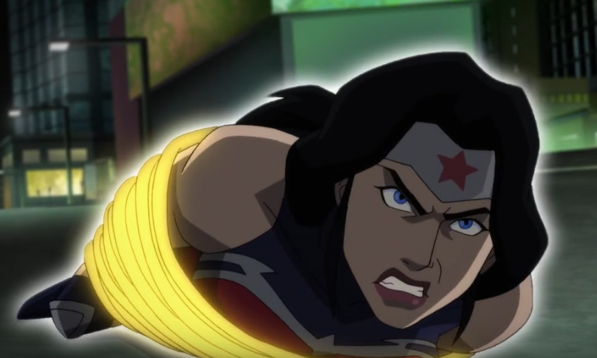 Wonder woman get ass kicked