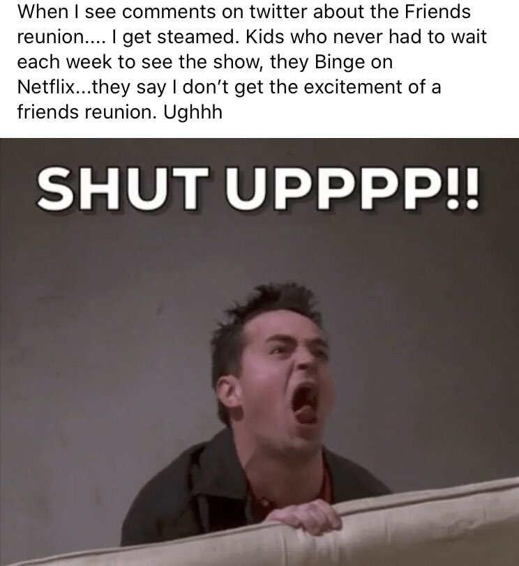 Truth. I'm that old woman. #friends