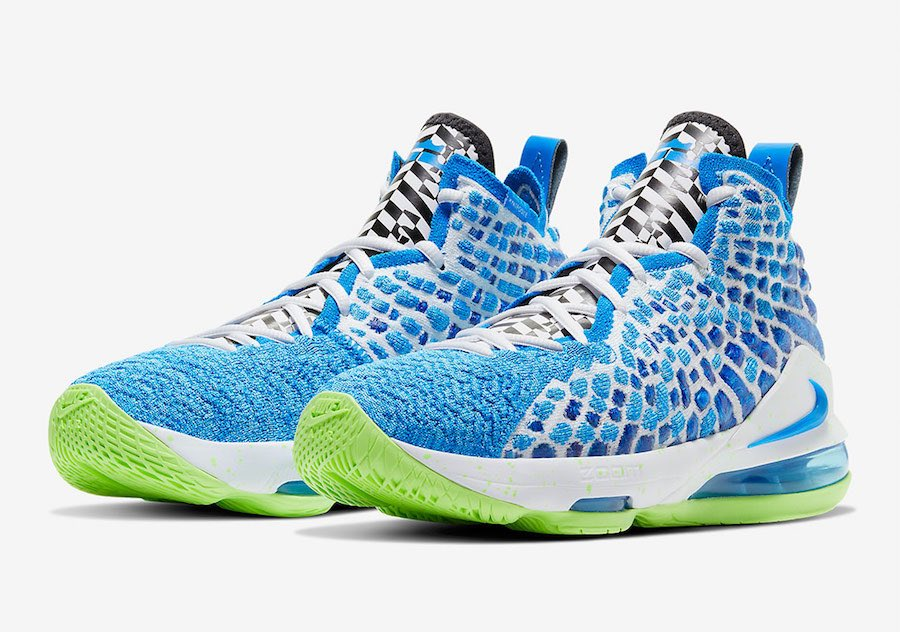 "Nike LeBron 17 GS ""Photo Blue"""