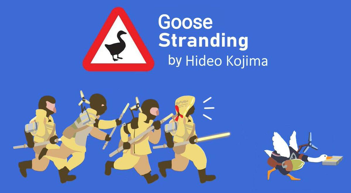 Goose Stranding(full version)🦆 #DeathStranding #KojimaProductions @HIDEO_KOJIMA_EN