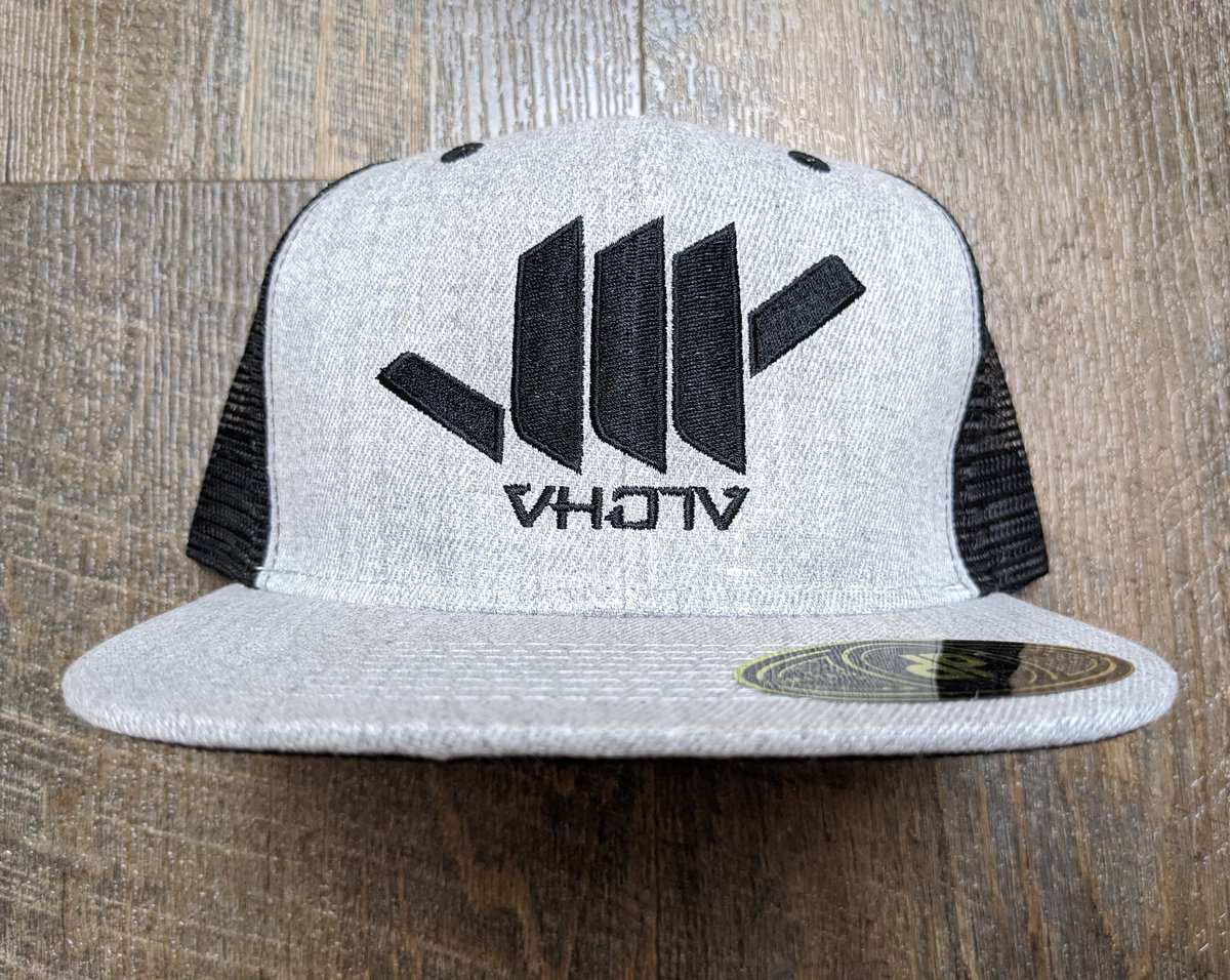 Brand new, #HeatherGray/#Black #Mesh #Shaka #Trucker in the house! Be the first to get your hands on these online at ! 🙃🤙🏼 #findYOURaloha #AlohaRevolution