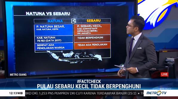#MetroSiang Berikut perbandingan Pulau Natuna dan Pulau Sebaru yang dijadikan tempat observasi pemulangan WNI.  #FactCheck #MetroTV http://metrotvnews.com/livepic.twitter.com/ALZx6jHO0i