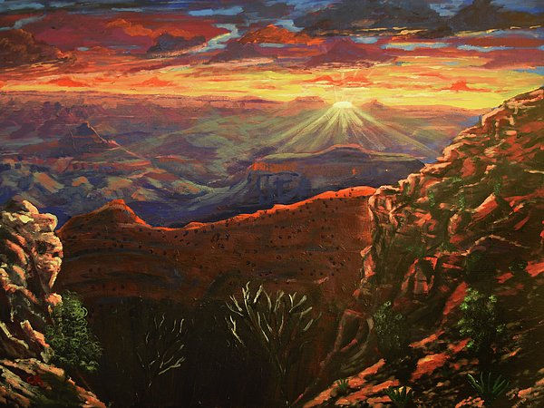 "New artwork for sale! - ""Grand Canyon Sunrise"" -  @fineartamerica"