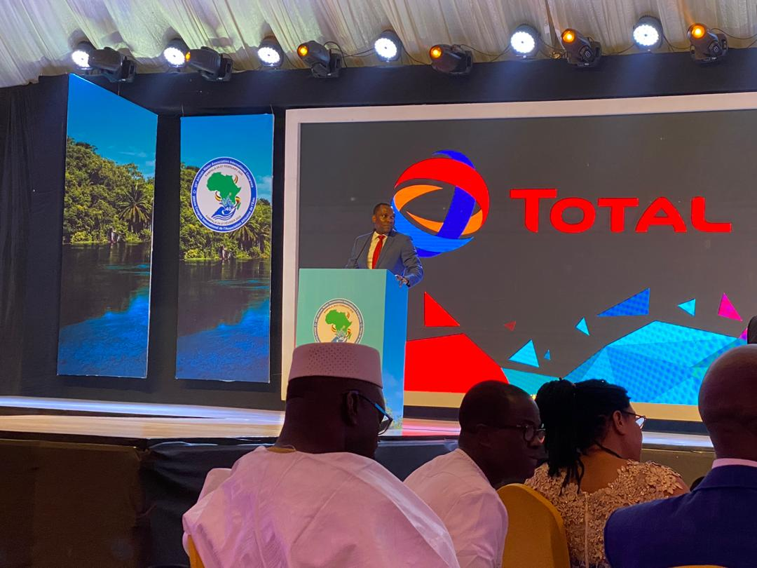 Obi Imemba (MD - Total Uganda Ltd) presented TOTAL's efforts, commitments and steps taken towards becoming the RESPONSIBLE ENERGY MAJOR on Wednesday, 26th February at the #AfWA ICE2020 Gala Dinner at Kololo Independence Grounds.#BetterEnergy #AFWAUg2020 #AFWA2020 #AfWACongress