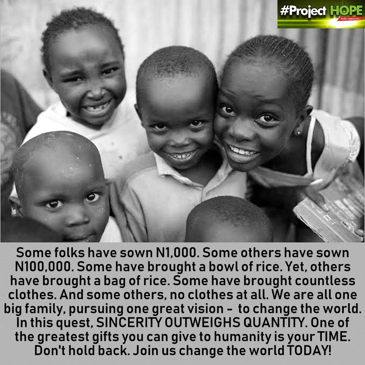 #ProjectHope #forhumanity #love #hope #support #share #donate #be #contribute #help #partner #volunteer #humanitarian #philantropist #hellotomorrow #kubwa #forthosewholive #getinvolved #joinus #gothere #changetheworld ❤