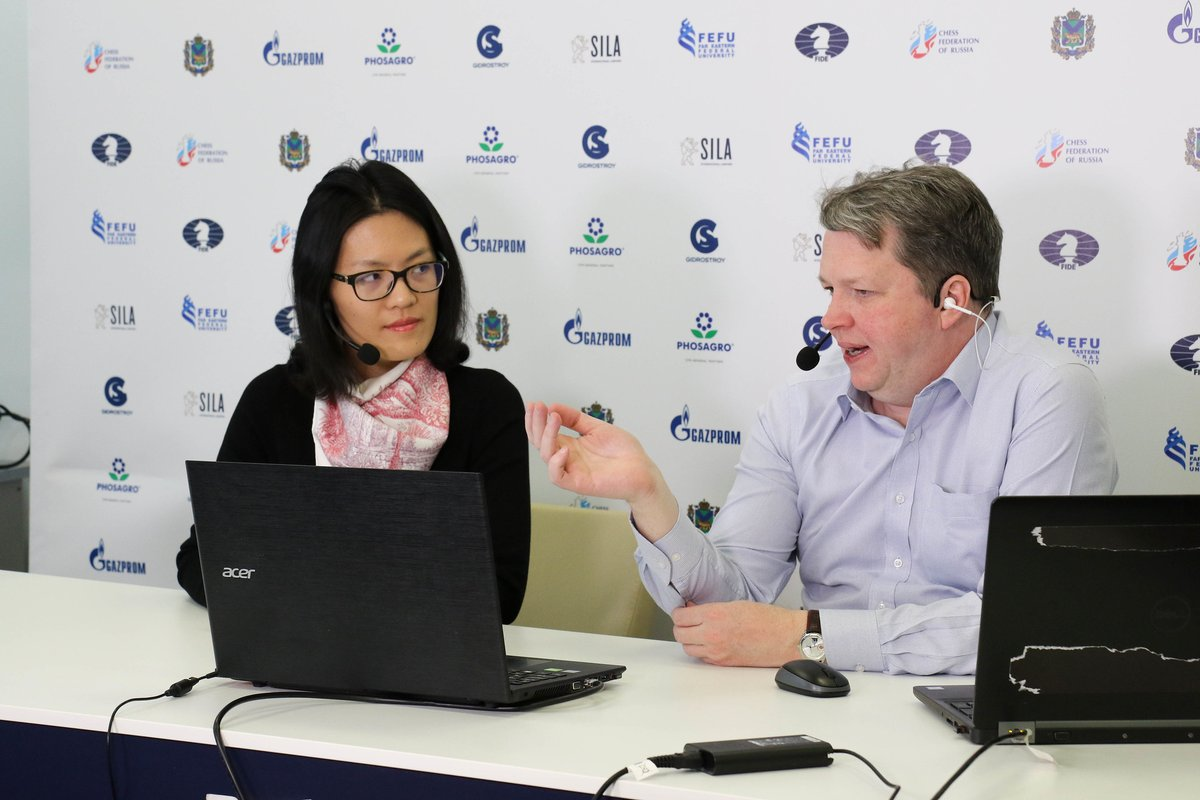 test Twitter Media - Happy Birthday to Hou Yifan!🎂  She is the highest-rated female player (2664), three times Women's World Champion and the youngest ever to win this title.  We wish Yifan all the best in her unprecedented chess career and her current studies in @UniofOxford.   #HBD #WomenInChess https://t.co/pCchkuzcq6