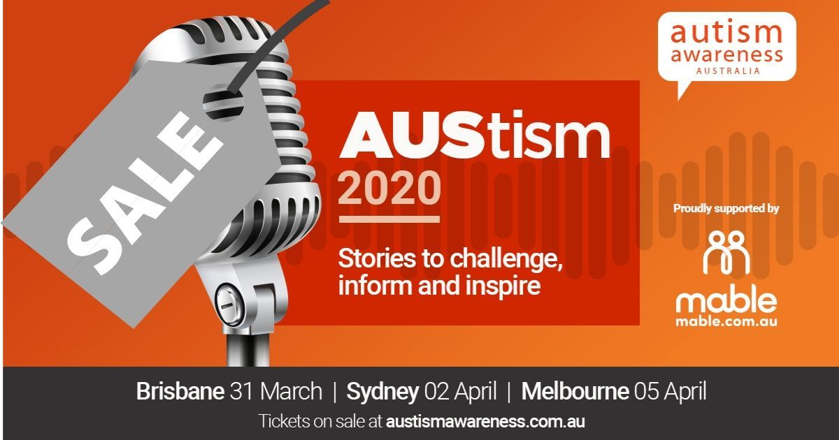 Our ticket sale for #AUStism2020 has been extended to 29 February! Don't miss your chance to buy tickets at the special 40% discount rate for friends of AAA! Full event details & bookings  https://t.co/qUPvsWDlfq @stories_autism @joabi @SpectrumBarb @chloemaxwell @Mable_Australia https://t.co/0euWtu6R5I