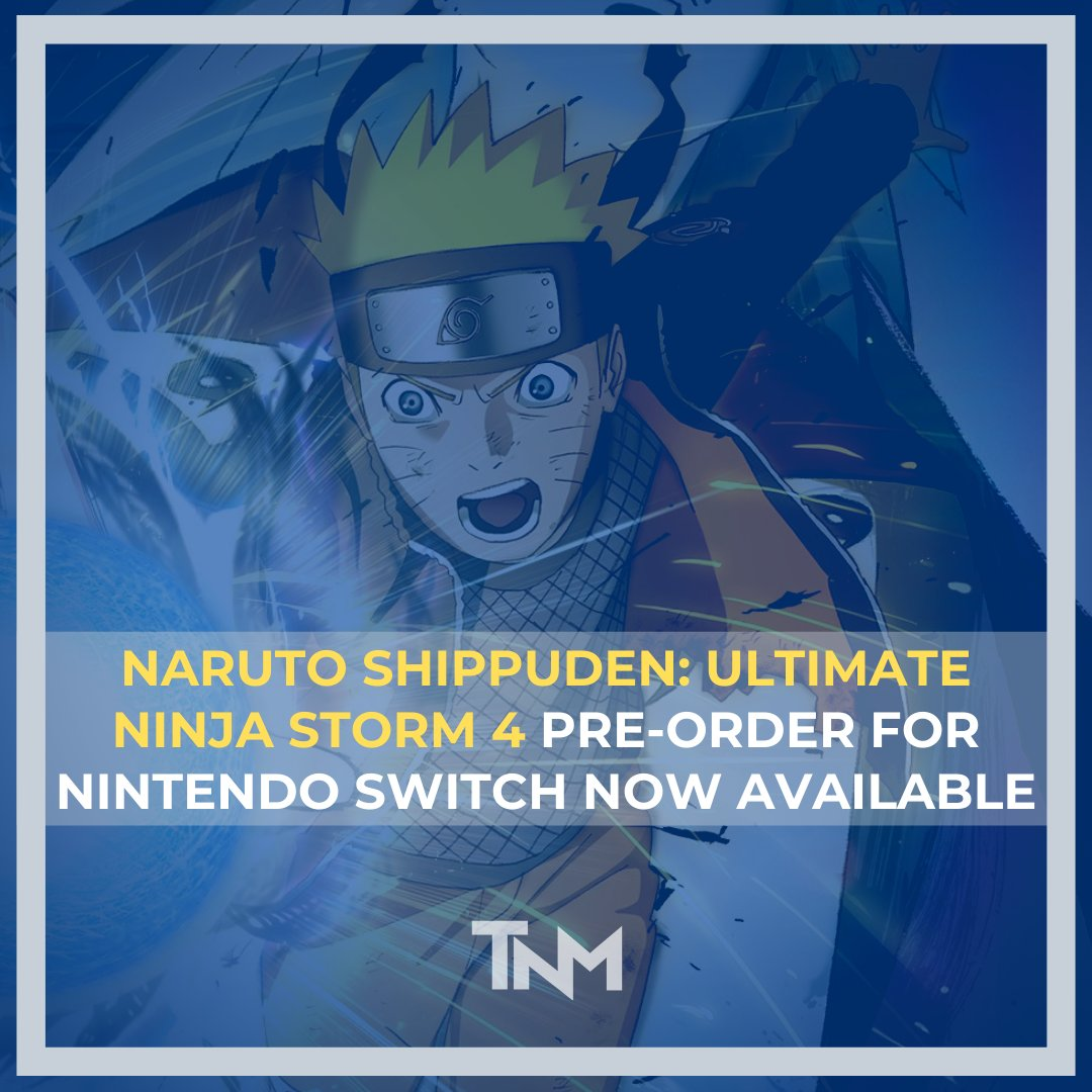 Naruto Shippuden: Ultimate Ninja Storm 4 Pre-Order for Nintendo Switch now available.   #NarutoShippudenUltimteNinjaStorm4 #UltimateNinjaStorm4 #Naruto #Games #NintendoSwitchGames #BandaiNamco #Anime #Boruto #Sasuke #itachiuchiha #Itachi #AnimeGames