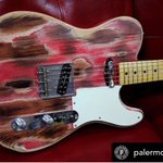 Image for the Tweet beginning: Barn Burner Palermo Guitar
