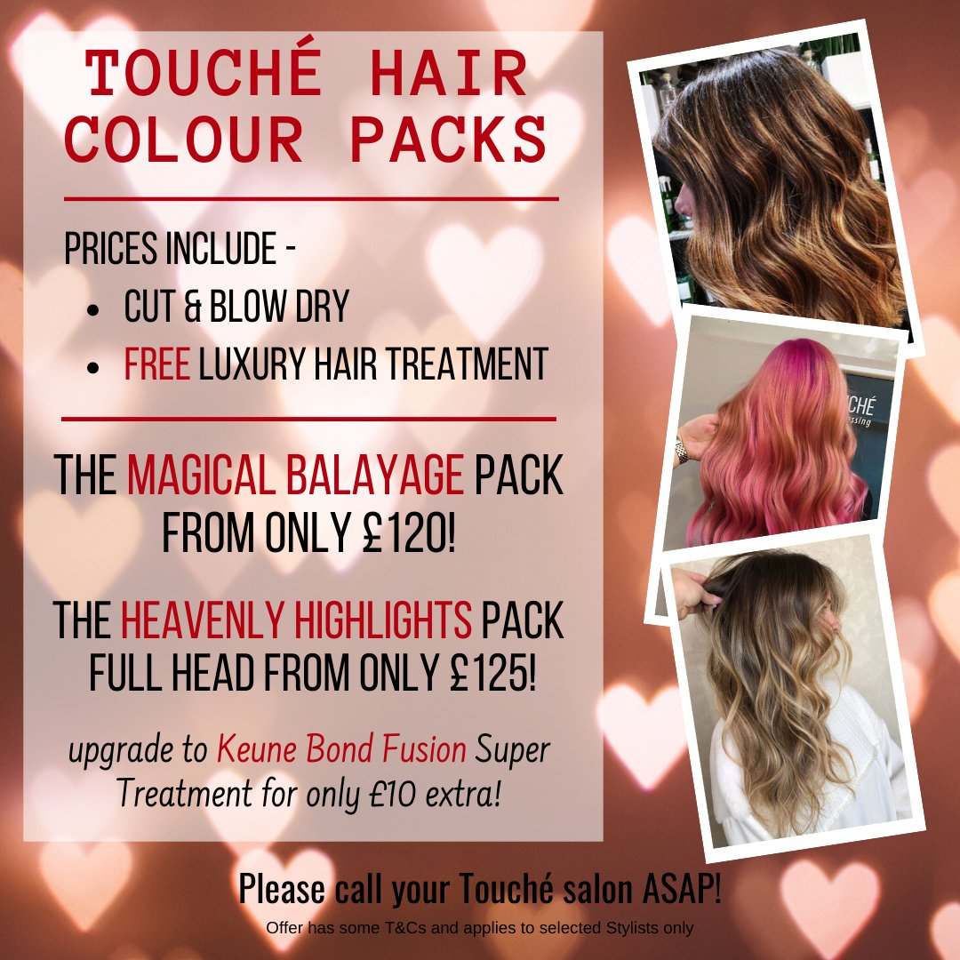 We love  our @KeuneUK colours and we love showing off our #haircolourskills  So, here's a tempting little colour package offer  Choose either Highlights or Balayage package and give us a call #caterham #purley #croydon #oxted #hairdressers #hairsalon #godstonepic.twitter.com/egwXLufBHG