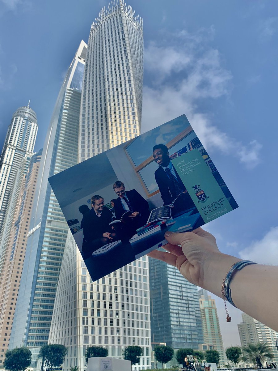 With 70% of our current year 13's receiving Russel Group university offers, the sky's the limit at Holyport College Sixth Form. Come and see us this weekend #ukboardingschoolexhibtion @An_Education #dubai #ukstateboarding #expectexcellence