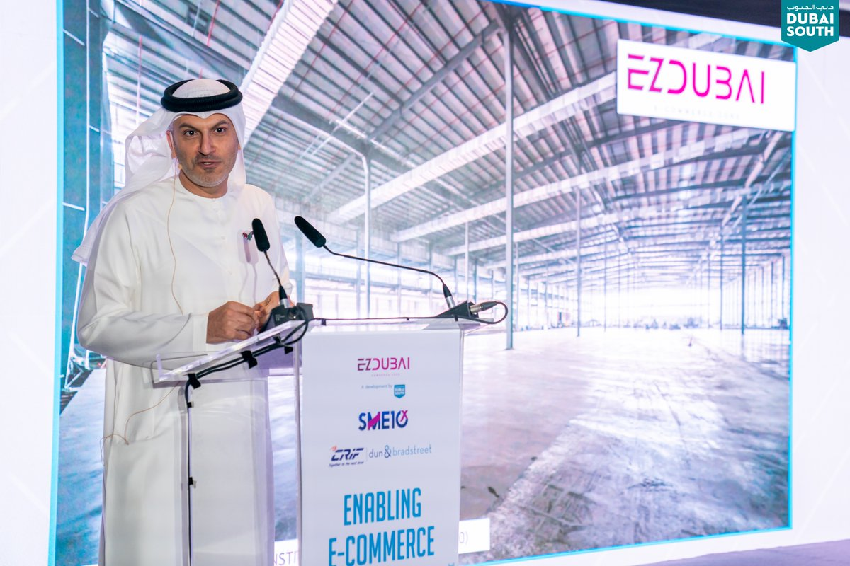 The 'Enabling E-Commerce Conference' held at #DubaiSouth was a huge success with over 150 SME owners & C-Suite Executives as attendees.   @SME10x  #Conference #SME #Business #Logistics #SupplyChain #Investment #Investors #Economy #MiddleEast #Dubai #UAE
