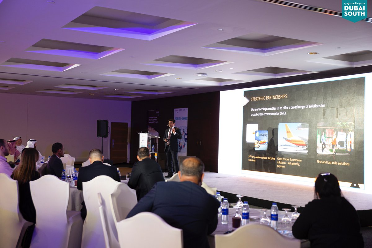 During the day industry experts addressed the role that logistics plays in facilitating #Ecommerce business and discussed the current #EcommerceTrends.   #Conference #SME #Business #Logistics #SupplyChain #Investment #Investors #Economy #MiddleEast #Dubai #UAE @SME10x