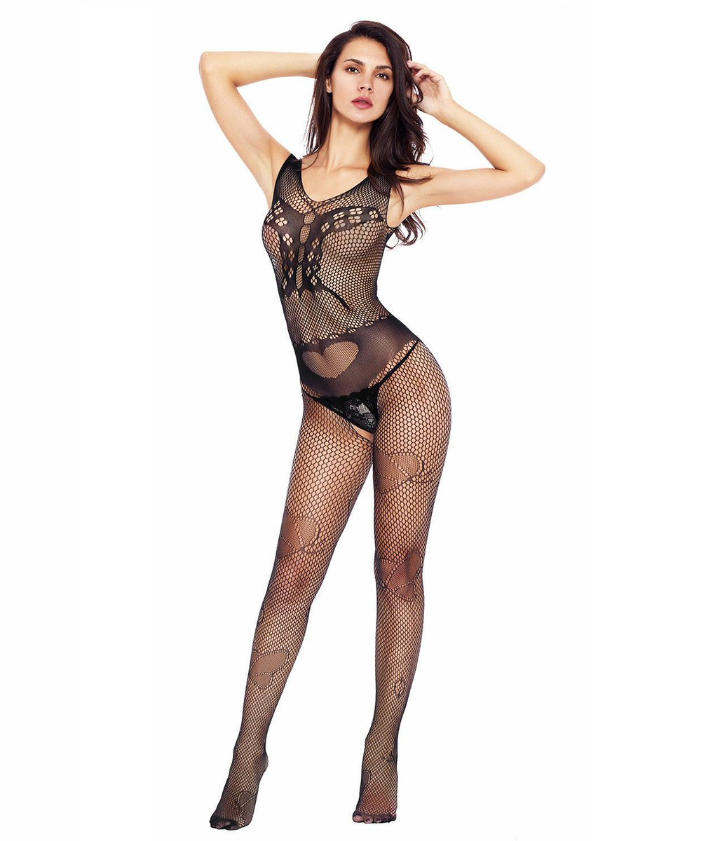 NEW Butterfly Accent Fishnet Bodystocking!  Make yourself feel irresistible with our new Butterfly Accent Fishnet Bodystocking! You'll turn heads in this sassy bodystocking that leave little to the imagination.   UK SIZE 6 TO 14 NOW: £5.99  #bodystocking #bodysuit #body #lingeriepic.twitter.com/oZ6lcp15Z2