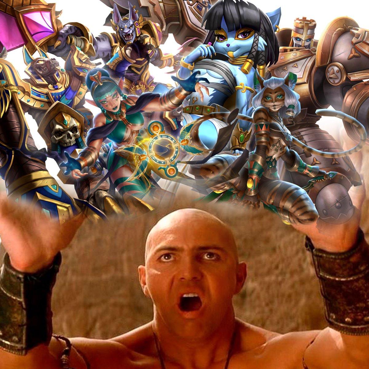 After super cool Community battlepass, Sands of Myth battlepass is comiinnnngg!  @PaladinsGame  #meme #me #me #m #e #m #e #meem  🖐️😩🤚
