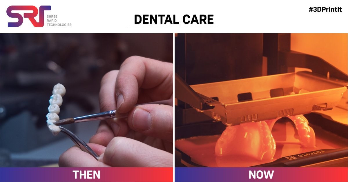 It is phenomenal how Digital Dentistry is changing the shape of the Dental Industry with lesser manufacturing time and more accurate designs using NextDent 3d printers.    #3Dprinting #3DPrintIt #DentalCare #3Dprinters