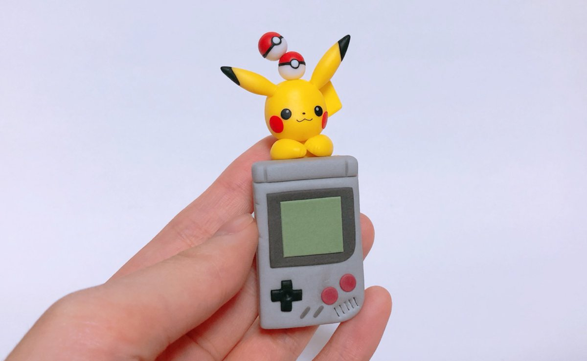 #本日2月27日はPokémonDay今日の午後マッハで作ったピカチュウとGB😊✨✨沢山の想いを詰め込んだポケモン!!大好きなポケモン!!❤️#PokemonDay