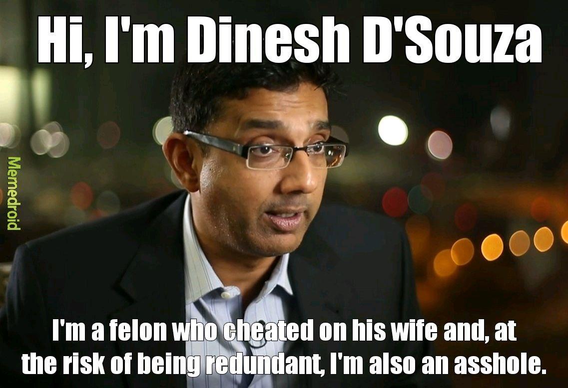 @DineshDSouza