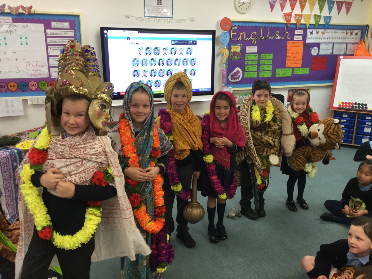 Year Two are having an incredibly exciting and vibrant morning in their Hinduism Workshop.  Their Class Page will be updated shortly with lots more photos and videos from this extraordinary day.<br>http://pic.twitter.com/AozEOLnNk9