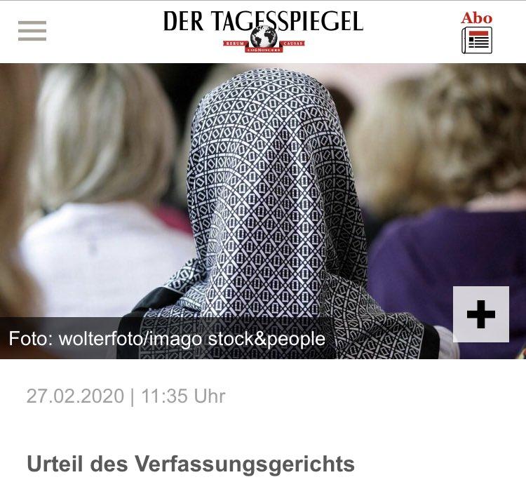 #Kopftuchverbot