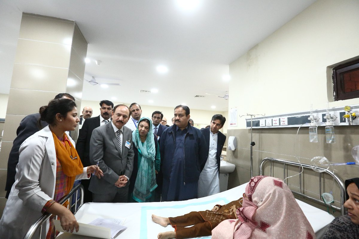 Image result for Children Hospital's emergency ward restored by Bahria Town