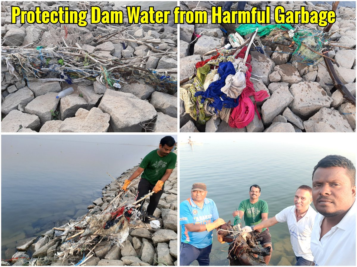 @SwachSurvekshan @bhavinbhalodi @Venkate99847416  Do notice our efforts in cleaning the dam from last 150 days. https://t.co/VbxydFSQPo