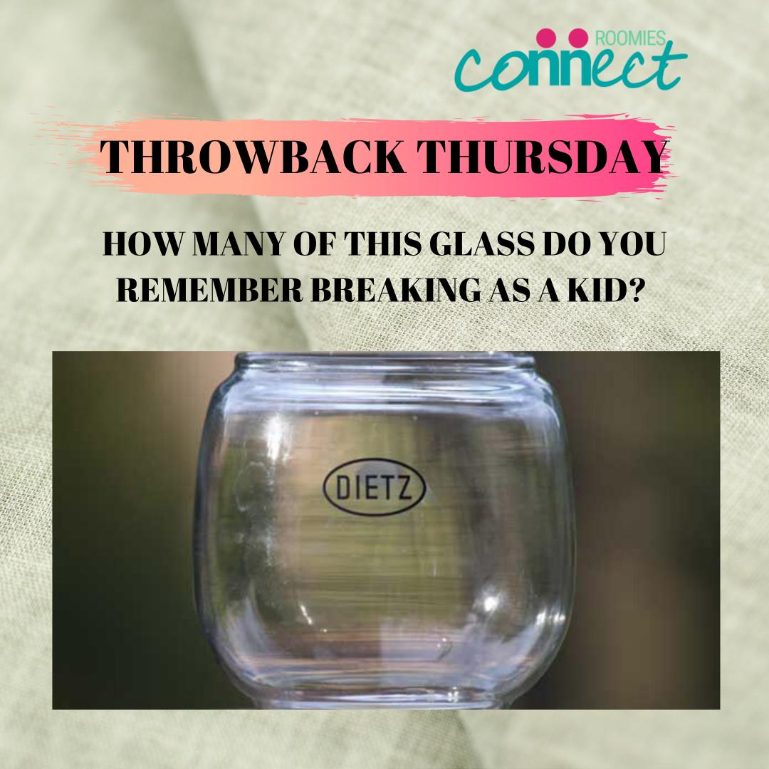 Who else remembers this glass?  Do you recall how many you broke growing up?  Or maybe you don't even know what that glass is?   #roomiesconnect #earnwithrc #throwback<br>http://pic.twitter.com/F7ssssoEx0