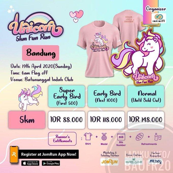 Bandung Unicorn Fun Run • 2020