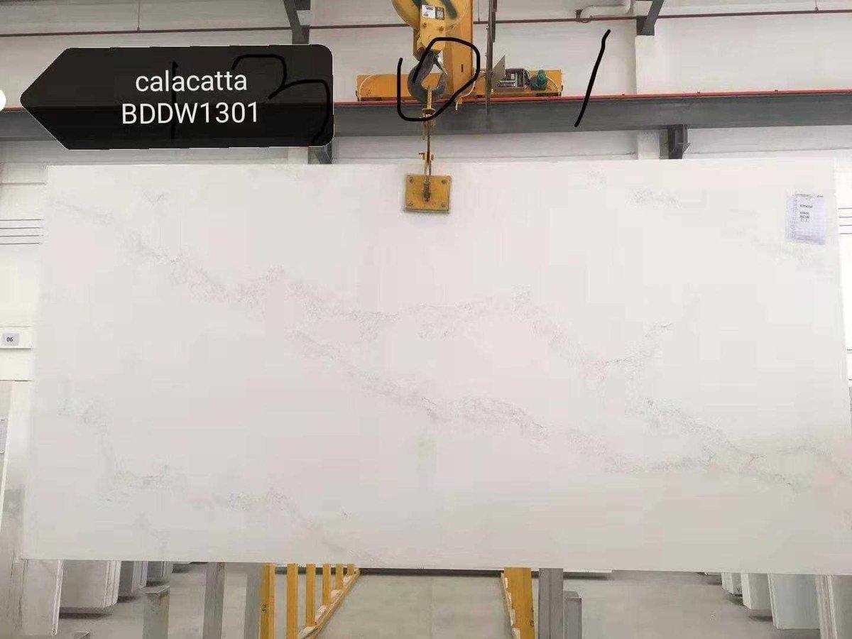 Calacatta White!Fancy slab for the kitchen!     #Quartz #Quartz Slab #Stone #Kitchen #Calacatta