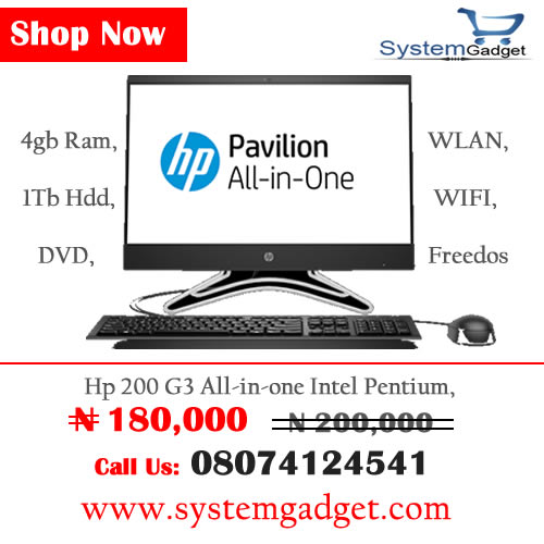 Hot Promo Get the most affordable all in one computer only on systemgadget shop now  or call 08074124541 #shopping #systemgadget #system #allinone