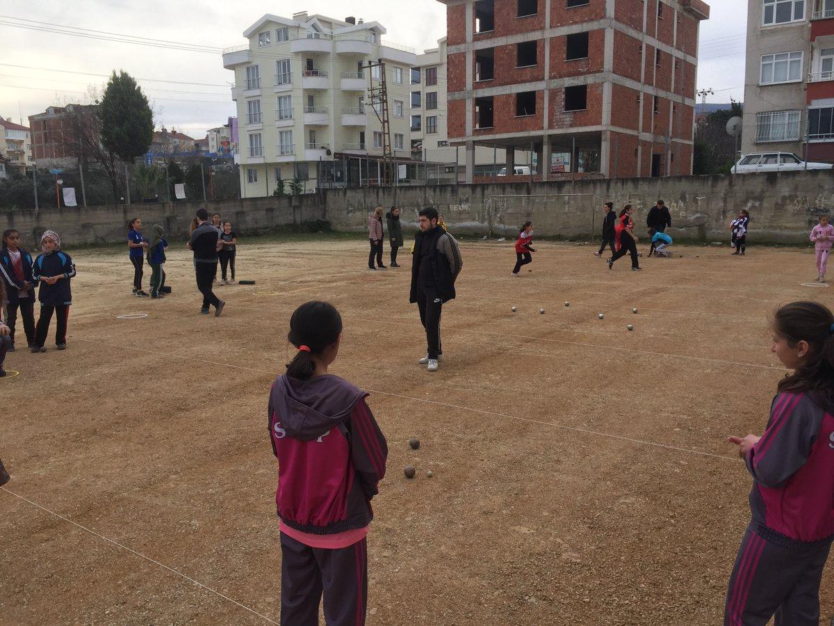 Okul Sporları İl Birinciliği Bocce müsabakaları Minik Kızlar ile başladı. @kasapoglu @TBBDF @mehbaykan @Sinop_GHSIMpic.twitter.com/3KIzitEOYo