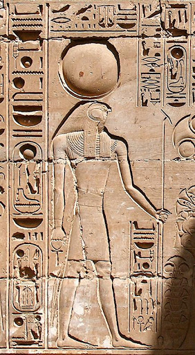 "Khonsu is the Ancient Egyptian god of the moon. His name means ""traveller"", which may relate to the nightly travel of the Moon across the sky. Khonsu also had titles such as 'Pathfinder' and 'Defender' as he was thought to watch over those who travel at night. #FolkloreThursday<br>http://pic.twitter.com/dOtnQvc26q"