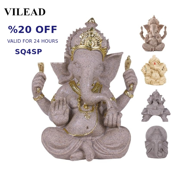 You won't believe this! VILEAD Sandstone Indian Ganesha Elephant God Statue Religious Hindu... selling at £23.99  by Mystic Healing Therapy  https://shortlink.store/PeSKEj_5n   Selling out fast so be quick! pic.twitter.com/bQq3dDLVn3